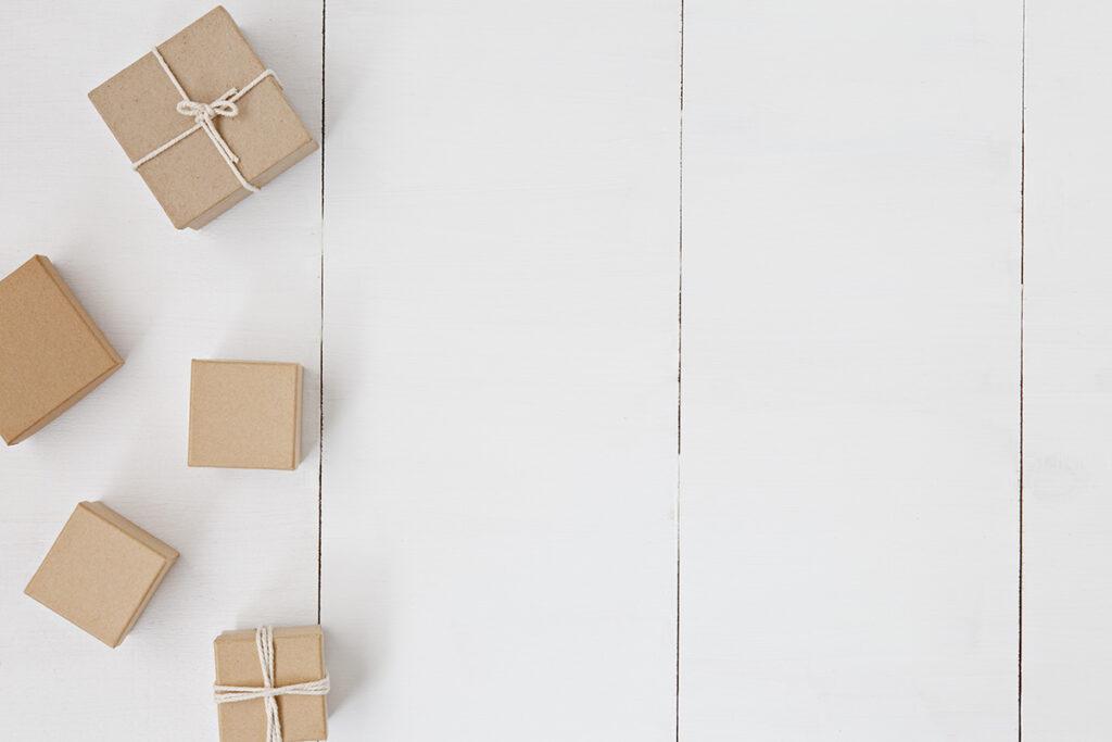 Kleine, efficiënte verpakkingen