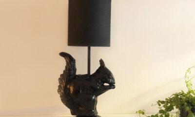 Zelfgemaakte design lamp