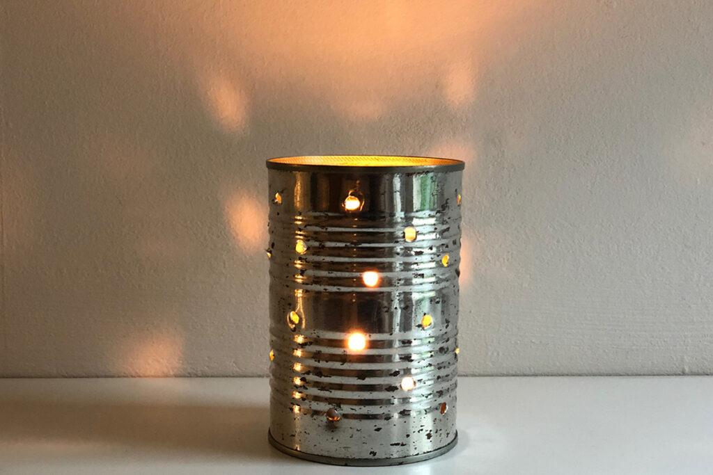 Waxinelichtje: het resultaat